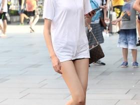 街拍客原创漂亮的美腿美女工作人员_街拍网VIP_街拍美女第一站