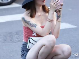 杭州街拍美女:那些身姿曼妙的小仙女,时髦的搭配很有范儿
