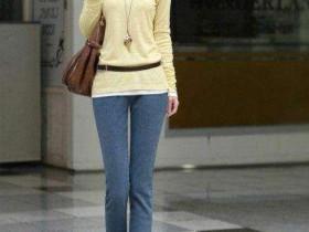 街拍气质长腿女神 搭配完美的曦姐姐你喜欢吗